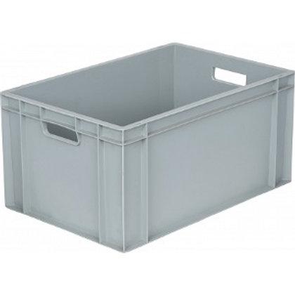 арт. 811 Пластиковый ящик 600х400х340 дно с усилением, серый B-4633