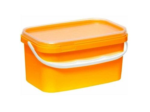 Ведро пластиковое 2 л ВП 2пр желтый