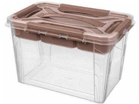 Пластиковый контейнер для хранения 290х190х180 Арт.GRAND BOX 6,65-2