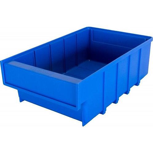 арт. 6002 Пластиковый ящик 300x185x100 синий