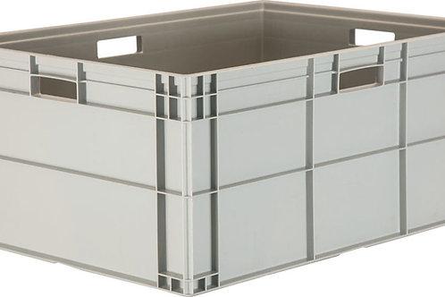 арт. 814 Пластиковый ящик 800х600х345 с ручками, дно с усилением B-8633