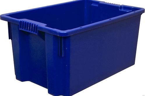 арт. 603 Пластиковый ящик п/э 600х400х300 сплошной