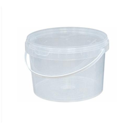 Ведро пластиковое 2, 25 л ВП 2,25 бесцветное