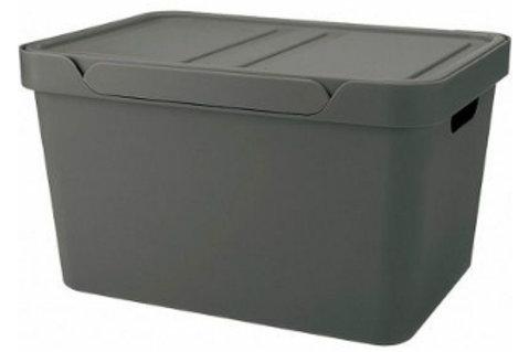 Пластиковый контейнер для хранения 380х276х220 Арт.Luxe 18