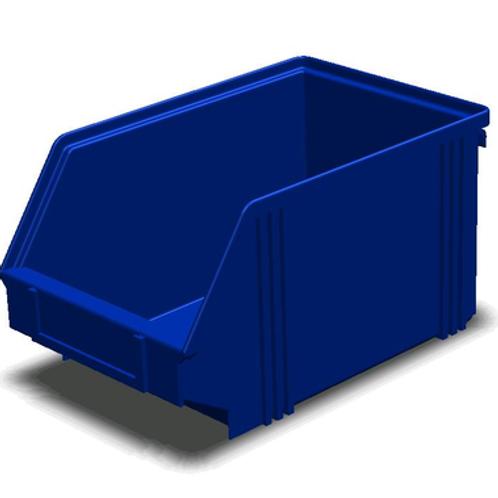 арт. 7967 Пластиковый ящик 250x148x130 для склада