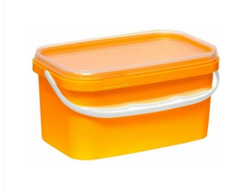 Ведро пластиковое 3,3 л ВП 3,3 пр желтый