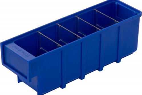 арт. 6005 Пластиковый ящик 300x92x100 синий