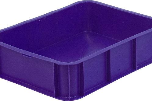 арт. 405 Пластиковый ящик 430х330х110 под пирожные, без крышки
