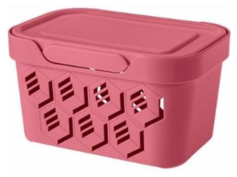 Пластиковый контейнер для хранения 189х132х110 Арт.DELUXE 1,9