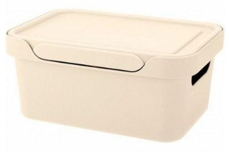 Пластиковый контейнер для хранения 270х190х120 Арт.Luxe 4,6