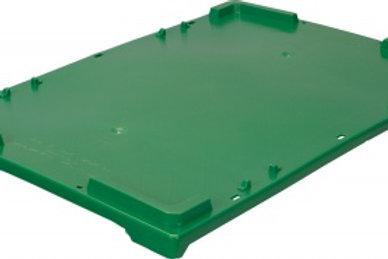 Крышка п/э для ящиков 600х400 зеленая морозостойкая