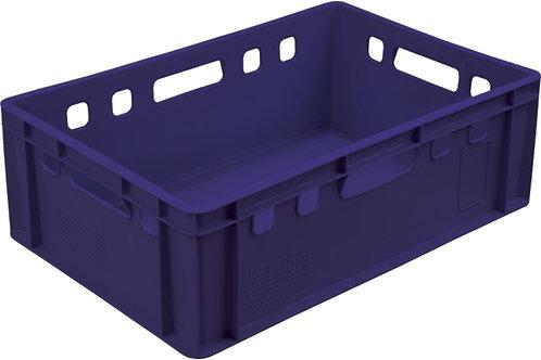 арт. 207 Пластиковый ящик 600х400х200 мясной Е2