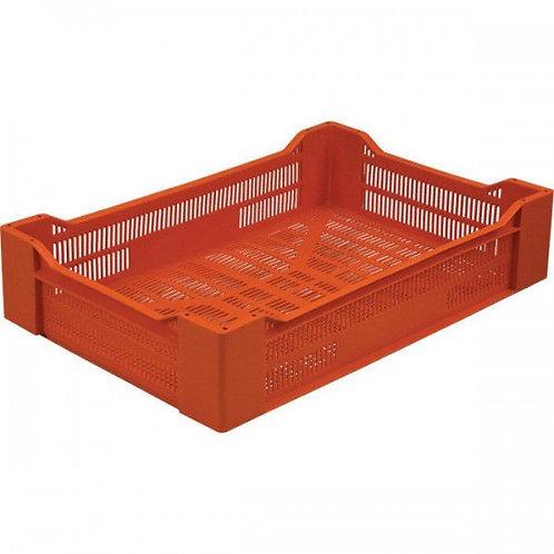 арт. 119 Пластиковый ящик 600x400x135 ягодный