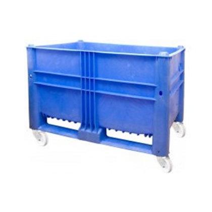 арт. 11-080-ТН-WA  (вар.1) BoxPallet 1200х800х900 на колёсах синий