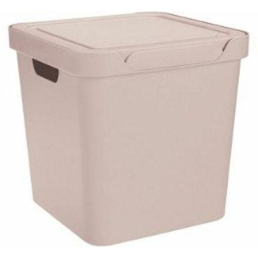 Пластиковый контейнер для хранения 286х286х286 Арт.Luxe 18-2