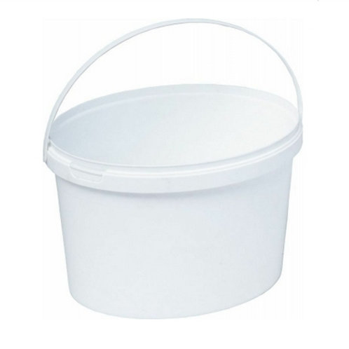 Ведро пластиковое овальное 3,5 л ВПо 3,5м