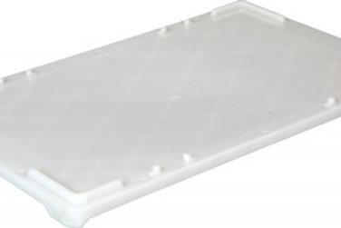Крышка п/э для ящиков 600х400 белая морозостойкая