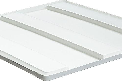 Крышка для BoxPallet 1230х1040х80 мм белая