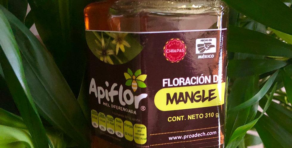 Miel diferenciada floración de mangle