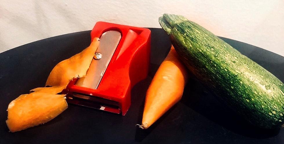 Sacapuntas de verdura