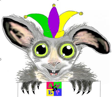 Artie our AYE mascot