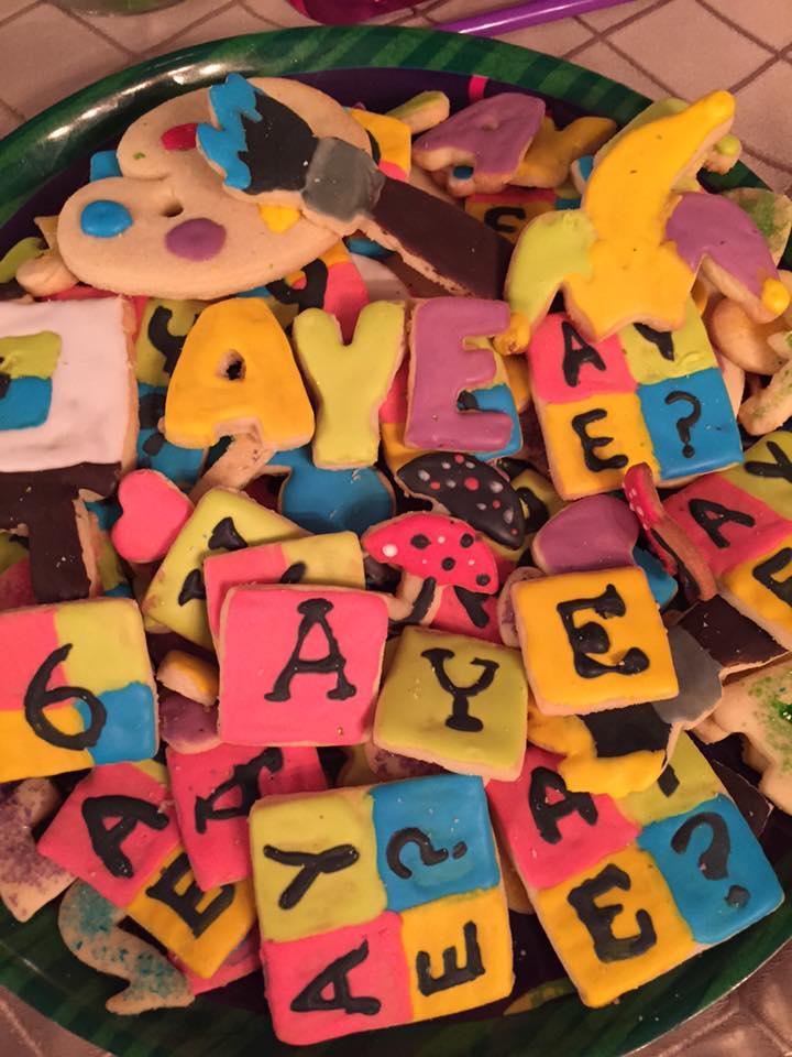 AYE cookies