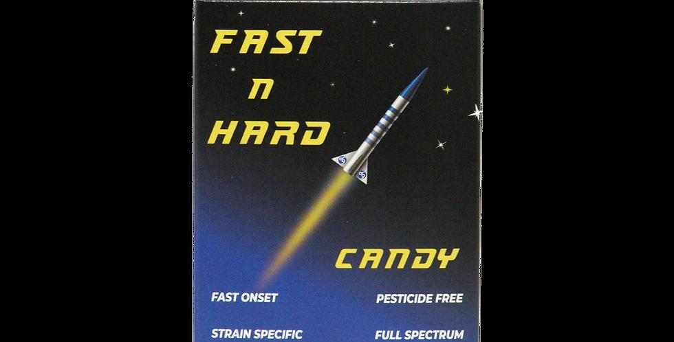 1:1 Blue Dream Fast n Hard Candy 10 pk - CBD 8mg, THC 6mg/candy