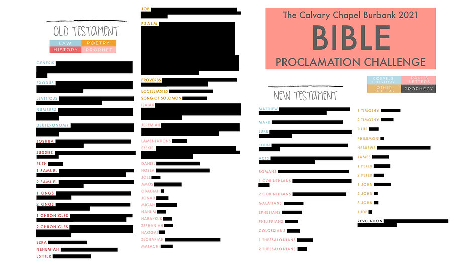 CCB Bible Proclamation Poster 2021 - don