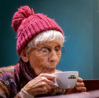 Mmm.... Coffee in a Bobble Hat
