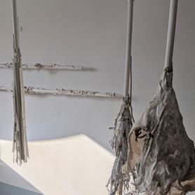 Hanging Broomsticks