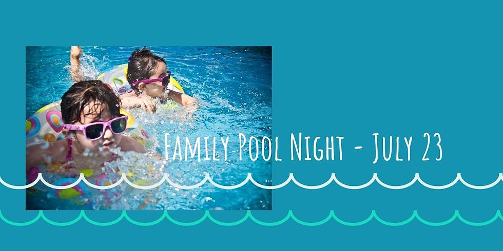 Family Pool Night