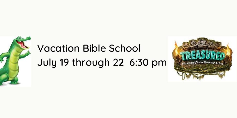 Vacation Bible School begins July 19!!