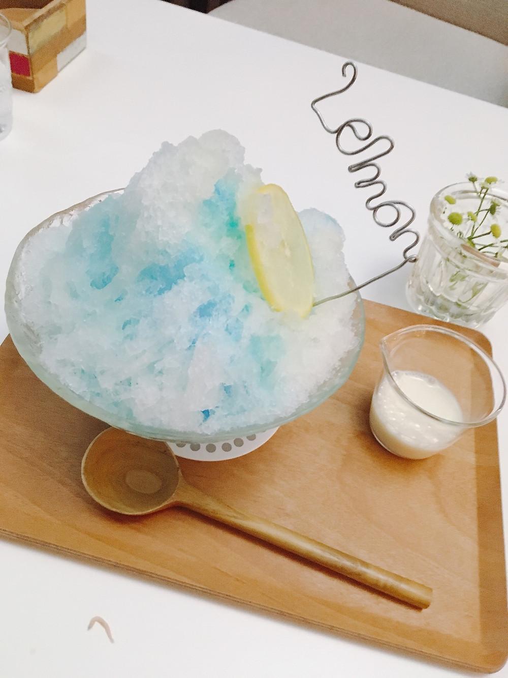 ツクモハーバーテラス カキ氷
