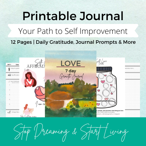 Copy of #92 Love 7-day journal