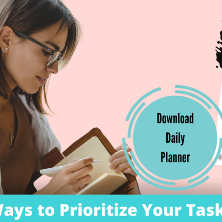 6 Ways How To Prioritize Your Task List