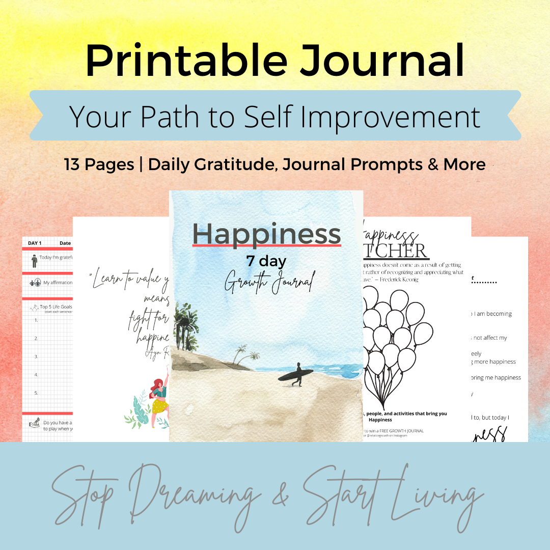 #94 happiness 7-day journal