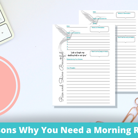 How to Use a Morning Routine to be More Productive