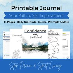 Free Printable | Journal | confidence