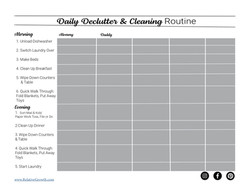 daily routine copy