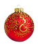 Gold and Red Ornament