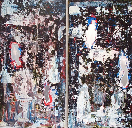 Untitled, No.15 diptych