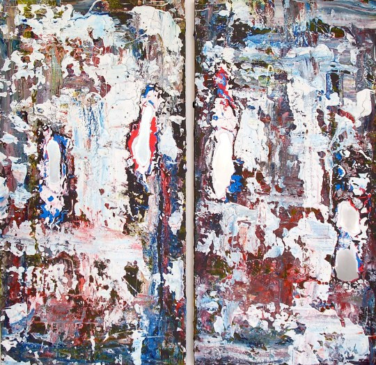 Untitled, No.13 diptych