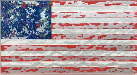 2014  American Jubilee Celebration Flag