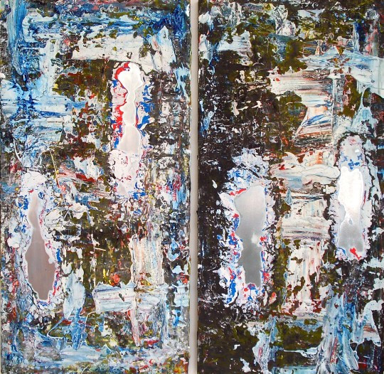Untitled, No.14 diptych