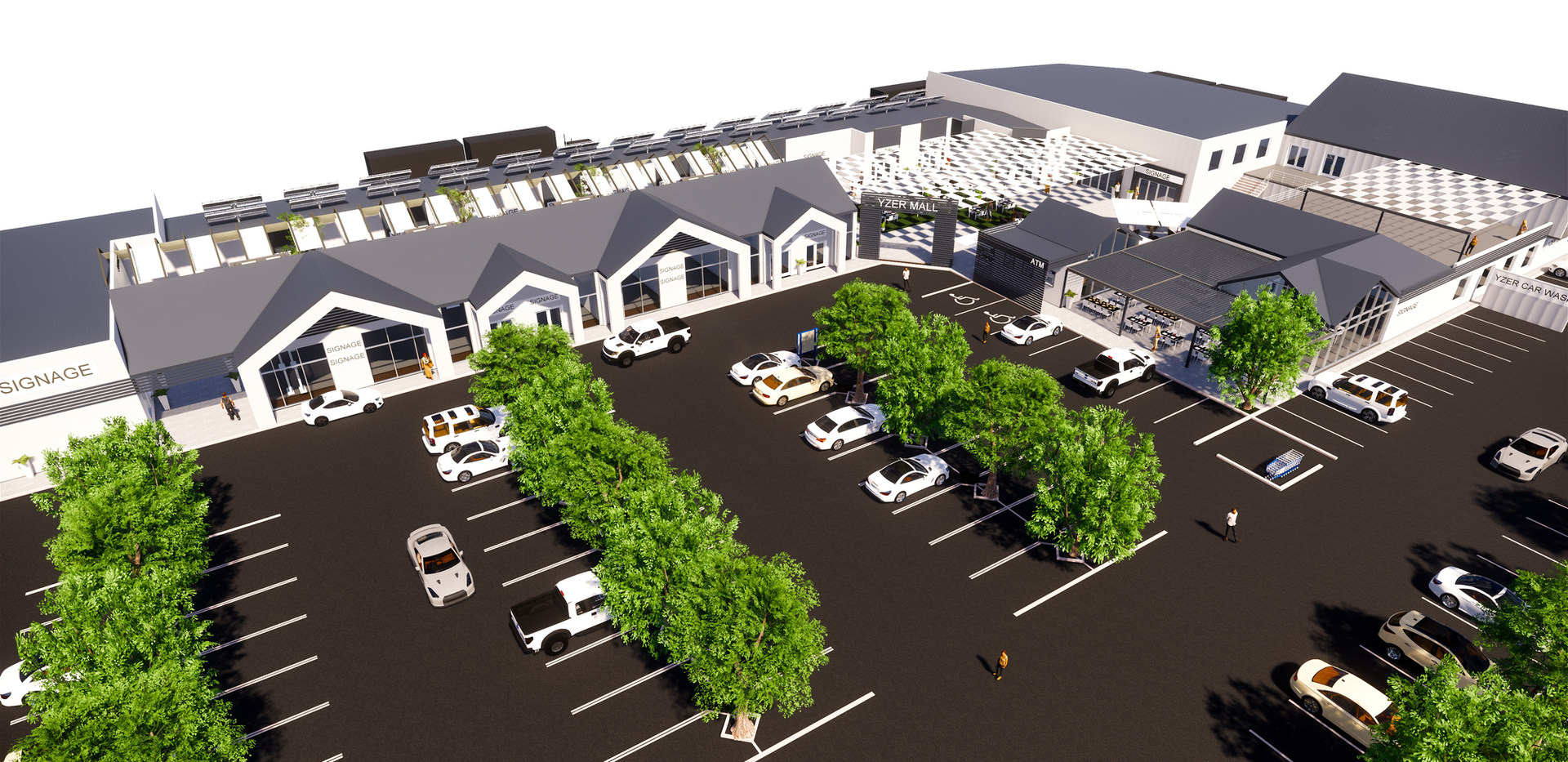 Yzer Mall, Yzerfontein
