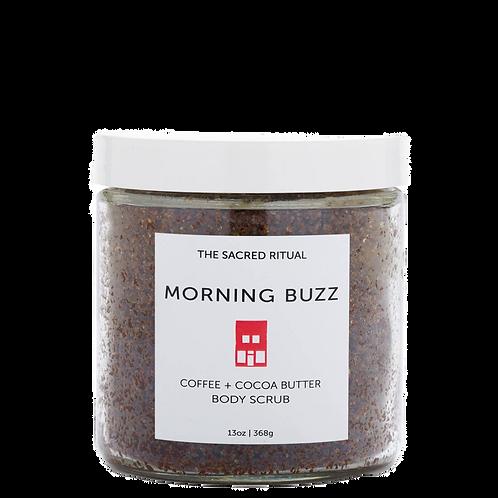 MORNING BUZZ Naturally Caffeinated Body Scrub 14oz.