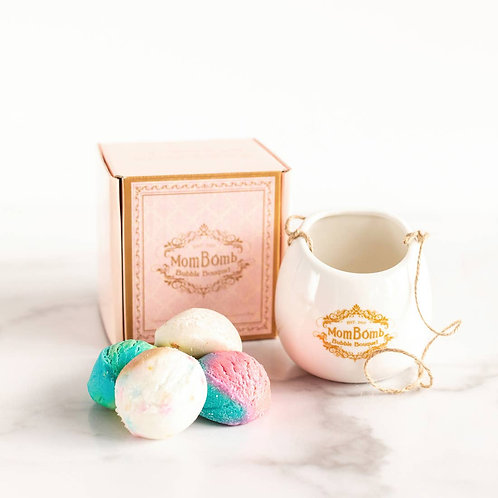 Bubble Bouquet Natural Bubble Bomb Gift Set, Proceeds Fund Charity to Help Moms