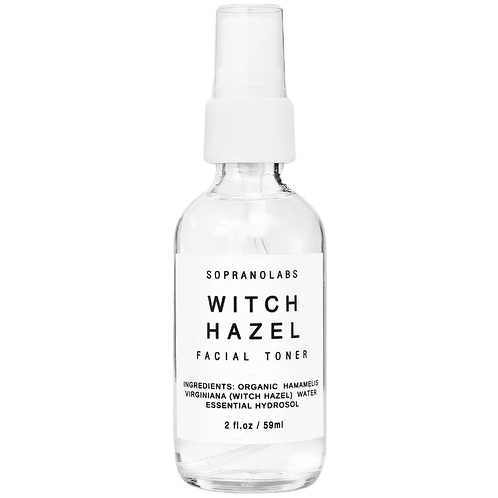 Organic Witch Hazel Firming Mist 2 oz. by Soprano Labs