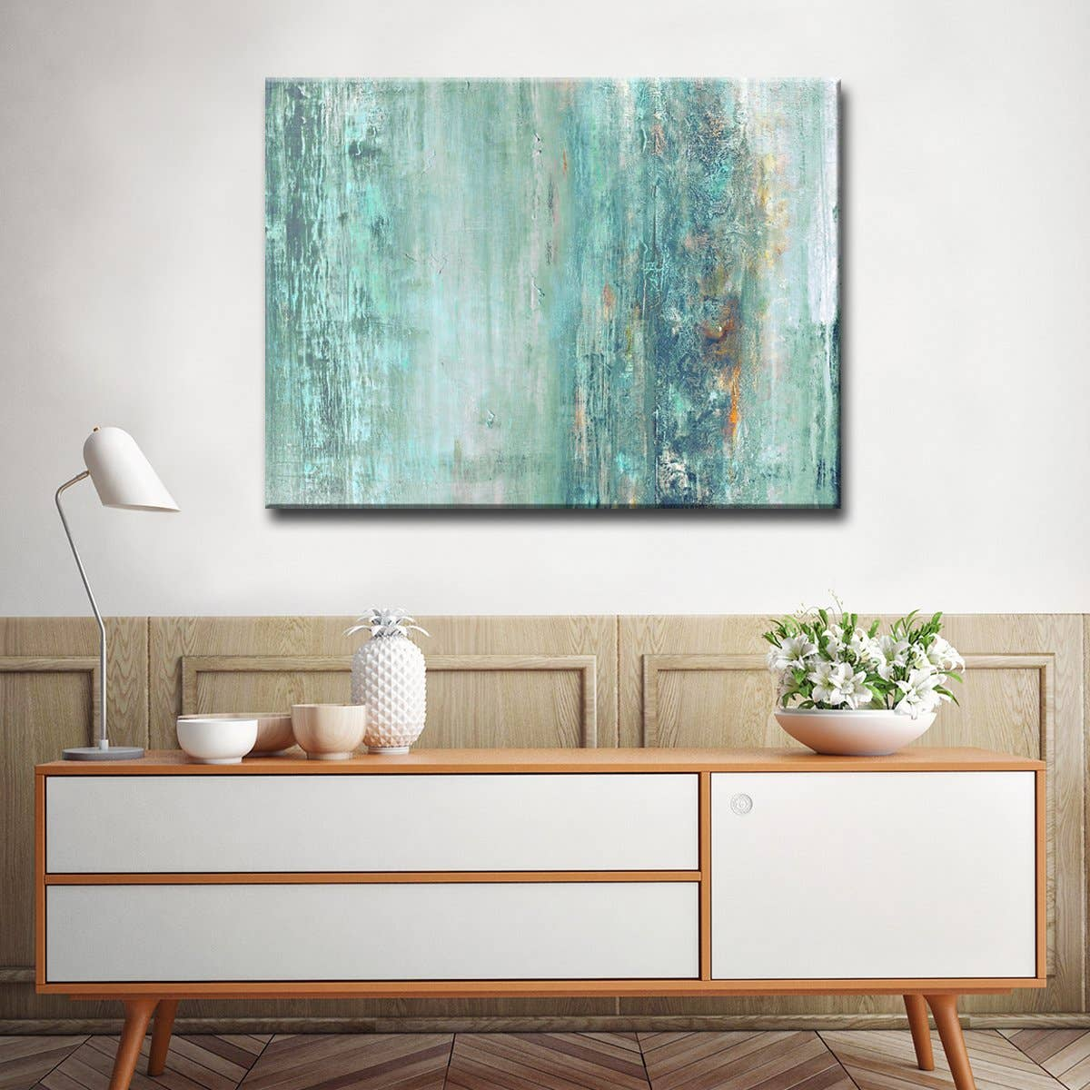 'Abstract Spa' Gallery Wrapped Canvas