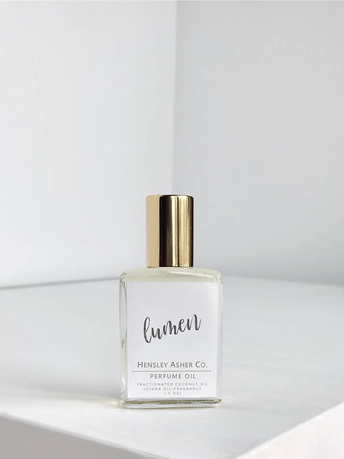 LUMEN Fresh Florals Vegan Roll On Perfume Oil 0.5 oz. Hensley Asher Co.